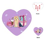 Yorkie Dress Up Playing Cards (Heart)