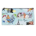 Poodles in Paris Pencil Case from ArtsNow.com Front
