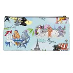 Poodles in Paris Pencil Case from ArtsNow.com Back