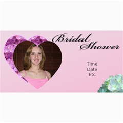 Bridal Shower Photo Card By Deborah   4  X 8  Photo Cards   Bac5drb9pi0m   Www Artscow Com 8 x4 Photo Card - 4