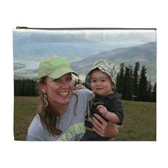 Nikhil Colorado X Lg Bag By Debra Macv   Cosmetic Bag (xl)   Fmmx5jkg3ars   Www Artscow Com Front