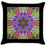 Repsycle 005 Throw Pillow Case (Black)