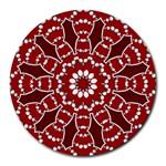 BubStari Circle Art Round Mousepad
