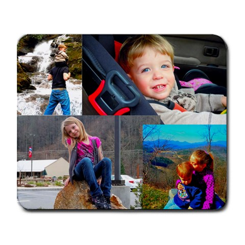 Mousepad By Jackie Patrick   Collage Mousepad   3veojtl8lj72   Www Artscow Com 9.25 x7.75 Mousepad - 1