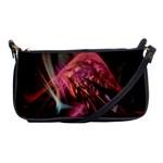 Fractalart Pinkhill By Webgrrl Shoulder Clutch Bag