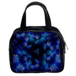 Fractal Blue Dreams Classic Handbag (Two Sides)