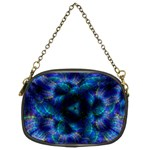 Fractal Blue Dreams Chain Purse (Two Sides)