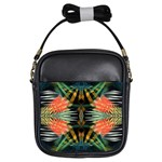 Fractalart-zeba Girls Sling Bag