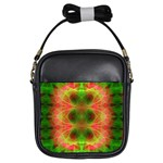 Fractal Fluro 005 Girls Sling Bag