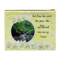 Easter Religious XL Cosmetic Bag by Laurrie Back