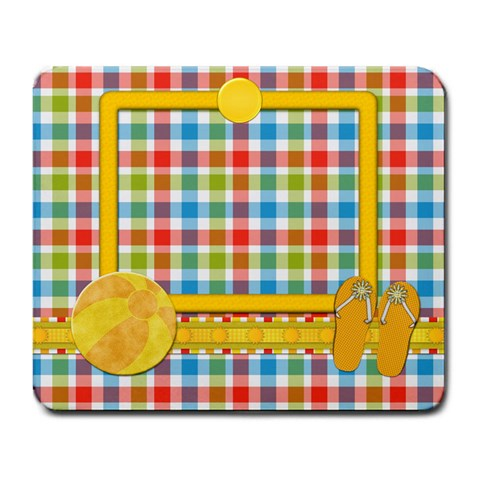 Sunshine Beach Mousepad 1 By Lisa Minor   Large Mousepad   Ro5eds8u6kxo   Www Artscow Com Front