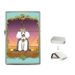 White Poodle Prince Flip Top Lighter