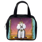 White Poodle Prince Classic Handbag (One Side)