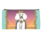White Poodle Prince Pencil Case