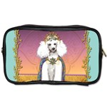 White Poodle Prince Toiletries Bag (Two Sides)