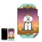 White Poodle Prince Apple iPhone 3G 3GS Skin