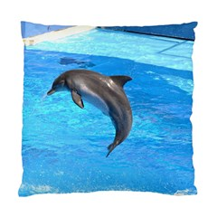 Jumping Dolphin Cushion Case (one Side) by dropshipcnnet