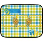 Sunshine Beach Blanket 1 - Mini Fleece Blanket