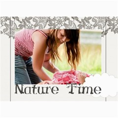 Nature Time By Joely   5  X 7  Photo Cards   Jch1hp39r8cy   Www Artscow Com 7 x5 Photo Card - 1