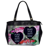 Bleeding Heart Single Sided - Oversize Office Handbag (One Side)