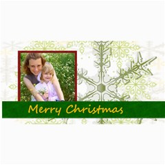 Merry Christmas By Joely   4  X 8  Photo Cards   H2wy3j7hegzi   Www Artscow Com 8 x4 Photo Card - 4