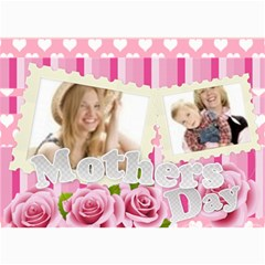 Mothers Day By Joely   5  X 7  Photo Cards   Dy6nyvc5dxpm   Www Artscow Com 7 x5 Photo Card - 1