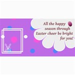 Easter cheer cards 8x4 - 4  x 8  Photo Cards