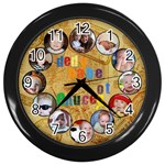 wall clock - Wall Clock (Black)