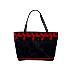 Red/black Classis Shoulder Bag By Kim White   Classic Shoulder Handbag   Sknqp66w5mro   Www Artscow Com Front
