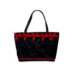 Red/black Classis Shoulder Bag By Kim White   Classic Shoulder Handbag   Sknqp66w5mro   Www Artscow Com Back