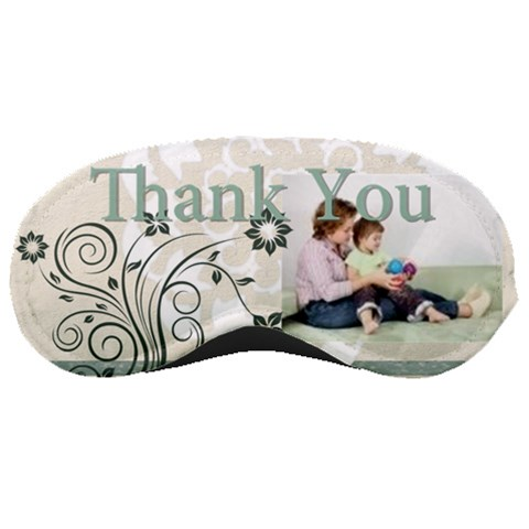 Thank You By Joely   Sleeping Mask   Xubza8owo8ev   Www Artscow Com Front