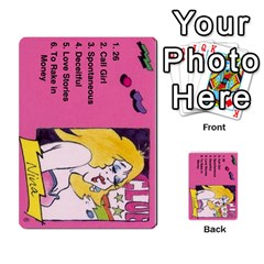 Psl Female By Mike Waleke   Multi Purpose Cards (rectangle)   Qd9t6tphaw6o   Www Artscow Com Front 6