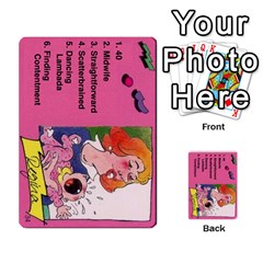 Psl Female By Mike Waleke   Multi Purpose Cards (rectangle)   Qd9t6tphaw6o   Www Artscow Com Front 34