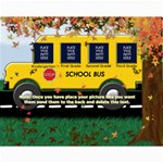 School Bus Collage 11x14 - Collage 11  x 14