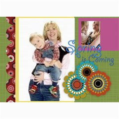 Happy Spring By Joely   5  X 7  Photo Cards   8k5cc5y6nyv2   Www Artscow Com 7 x5 Photo Card - 1
