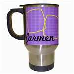 Carmen - Travel mug - Travel Mug (White)
