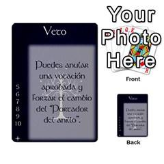La Compania Del Anillo By Stratosdj   Multi Purpose Cards (rectangle)   8h0i15p7ln1f   Www Artscow Com Front 14