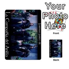 La Compania Del Anillo By Stratosdj   Multi Purpose Cards (rectangle)   8h0i15p7ln1f   Www Artscow Com Back 18
