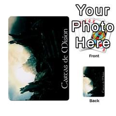 La Compania Del Anillo By Stratosdj   Multi Purpose Cards (rectangle)   8h0i15p7ln1f   Www Artscow Com Back 30