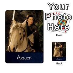 La Compania Del Anillo By Stratosdj   Multi Purpose Cards (rectangle)   8h0i15p7ln1f   Www Artscow Com Front 45