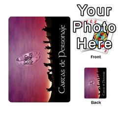 La Compania Del Anillo By Stratosdj   Multi Purpose Cards (rectangle)   8h0i15p7ln1f   Www Artscow Com Back 45