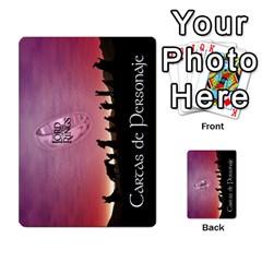 La Compania Del Anillo By Stratosdj   Multi Purpose Cards (rectangle)   8h0i15p7ln1f   Www Artscow Com Back 49