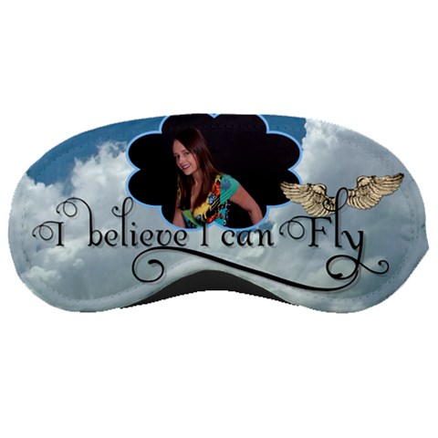 I Believe I Can Fly Sleep Mask By Lil    Sleeping Mask   Tbe367bwjxpf   Www Artscow Com Front