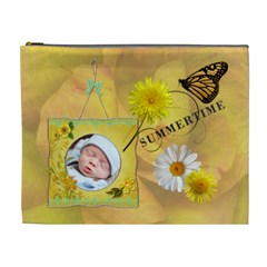 Summertime Xl Cosmetic Bag By Lil    Cosmetic Bag (xl)   Eck91kmarwrt   Www Artscow Com Front
