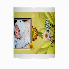 Spring Has Sprung Mug By Lil    White Mug   Vvizdqu6j589   Www Artscow Com Center