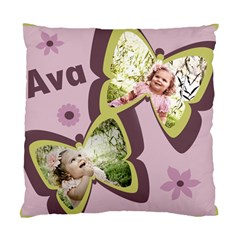 Ava s Throw Pillow For Her  big Girl  Bed By Amber   Standard Cushion Case (two Sides)   Lkyuqn4lnw54   Www Artscow Com Front