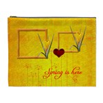 Spring is here cosmetic bag (XL)