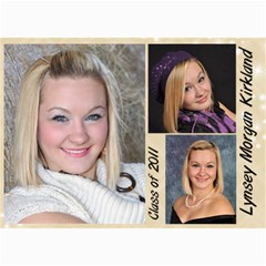 Lynsey s Announcements By Echo Kirkland   5  X 7  Photo Cards   A12nlo5nbeyh   Www Artscow Com 7 x5 Photo Card - 2