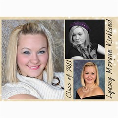 Lynsey s Announcements By Echo Kirkland   5  X 7  Photo Cards   A12nlo5nbeyh   Www Artscow Com 7 x5 Photo Card - 4
