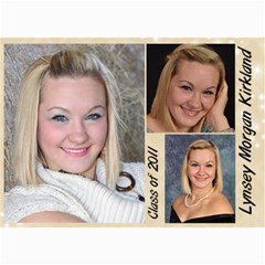 Lynsey s Announcements By Echo Kirkland   5  X 7  Photo Cards   A12nlo5nbeyh   Www Artscow Com 7 x5 Photo Card - 6